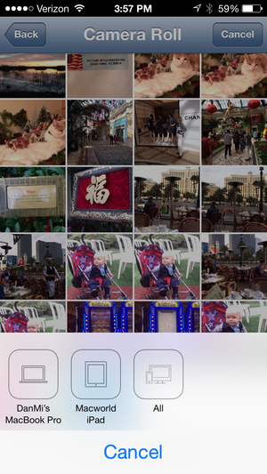 deskconnect ios camera roll
