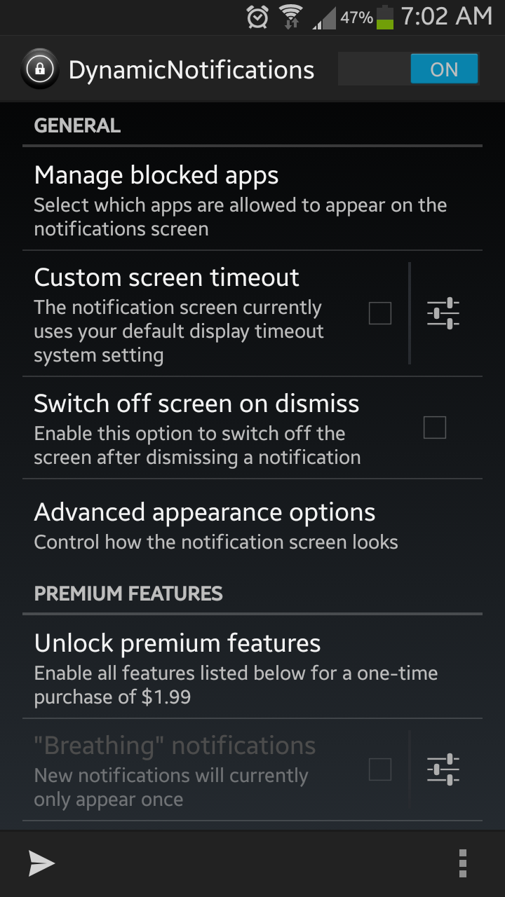 Customize Android Notification Alerts Even Without A Dedicated