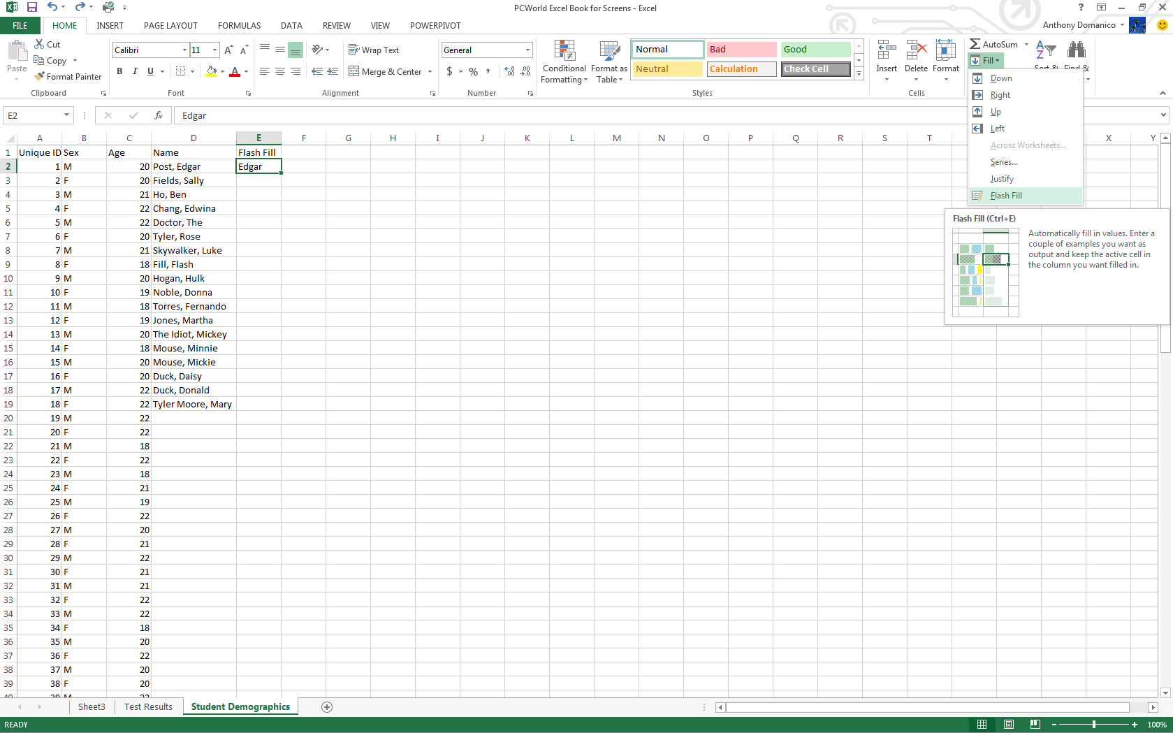 Real Excel Power Users Know These 11 Tricks Pcworld