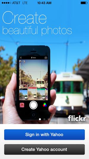 flickr login