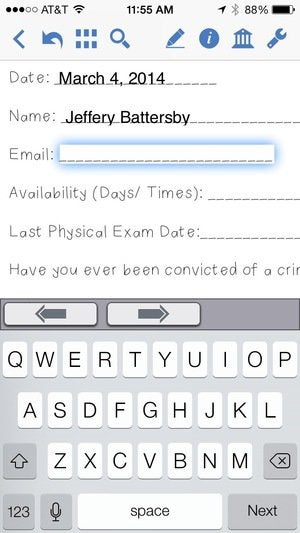 PDFpen for iPhone