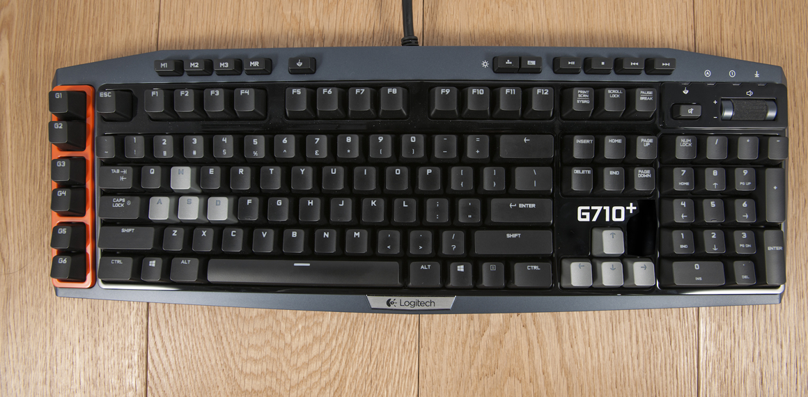 Logitech G710 Review The Latest In A String Of Excellent Efforts