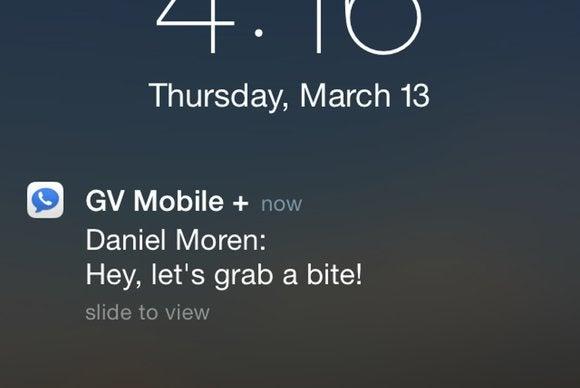 gvmobile notification