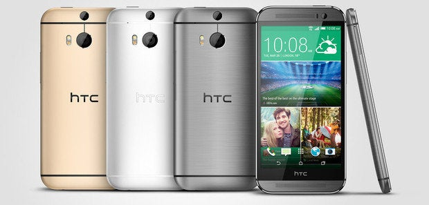 htc one m8 gold silver gray