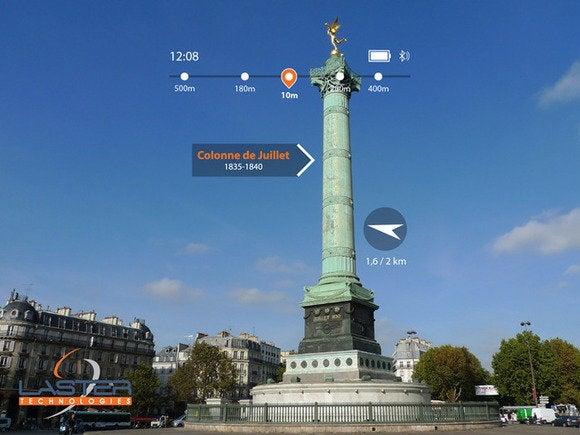 laster navigation app