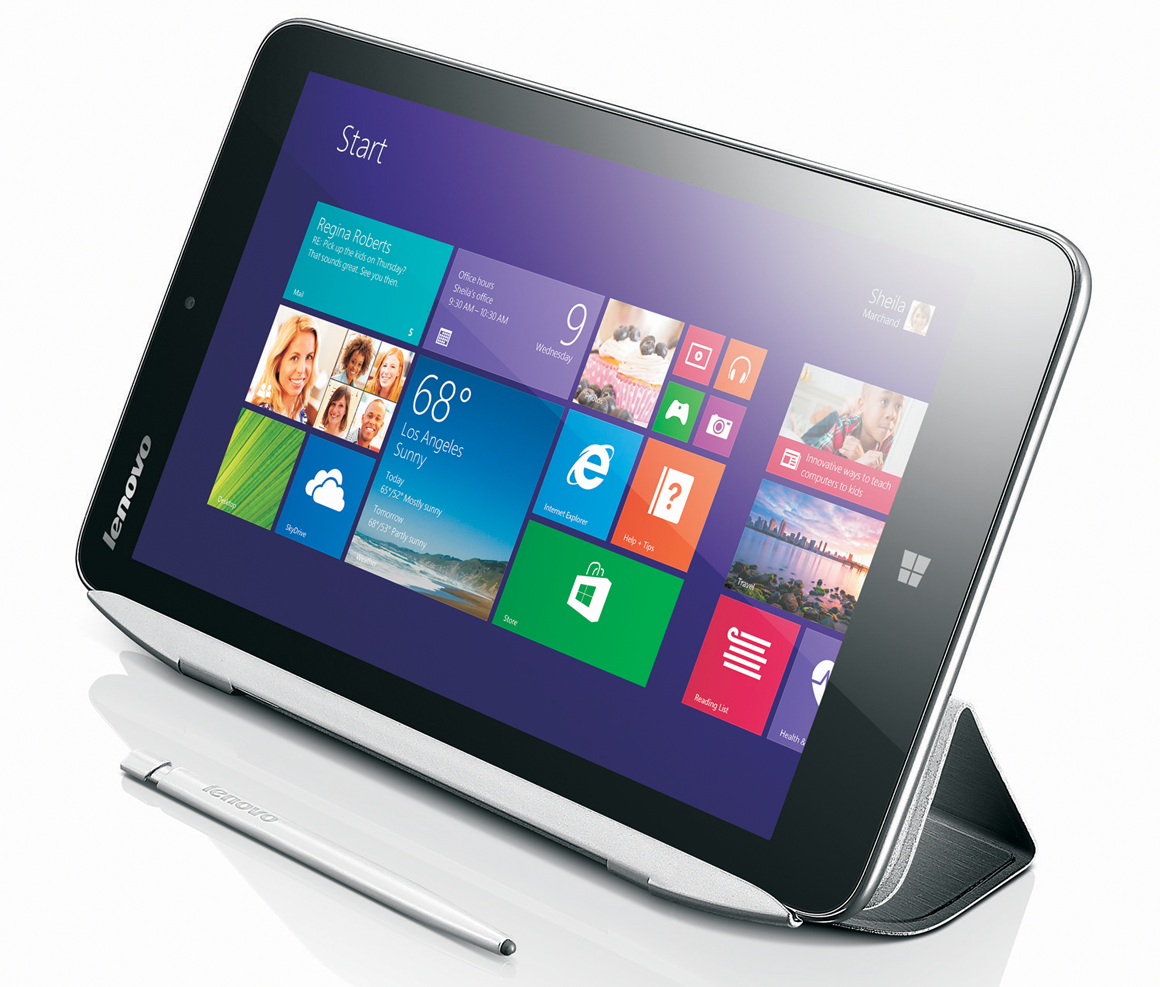 lenovo miix 2 8 review a fast tablet that 39 s short on features pcworld. Black Bedroom Furniture Sets. Home Design Ideas