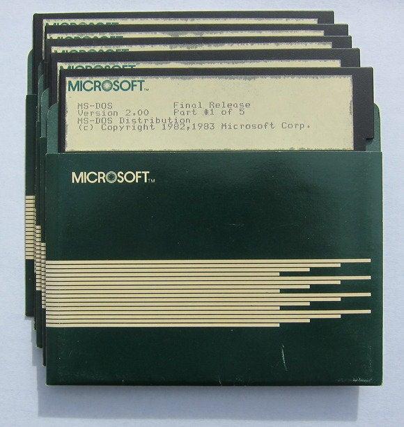 microsoft ms dos
