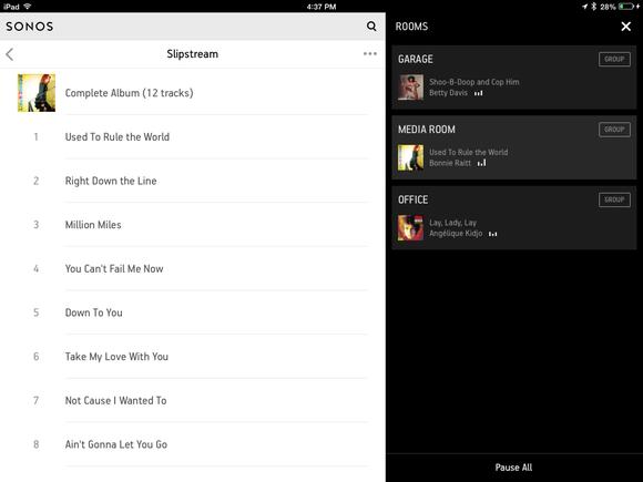 beta Sonos controller app