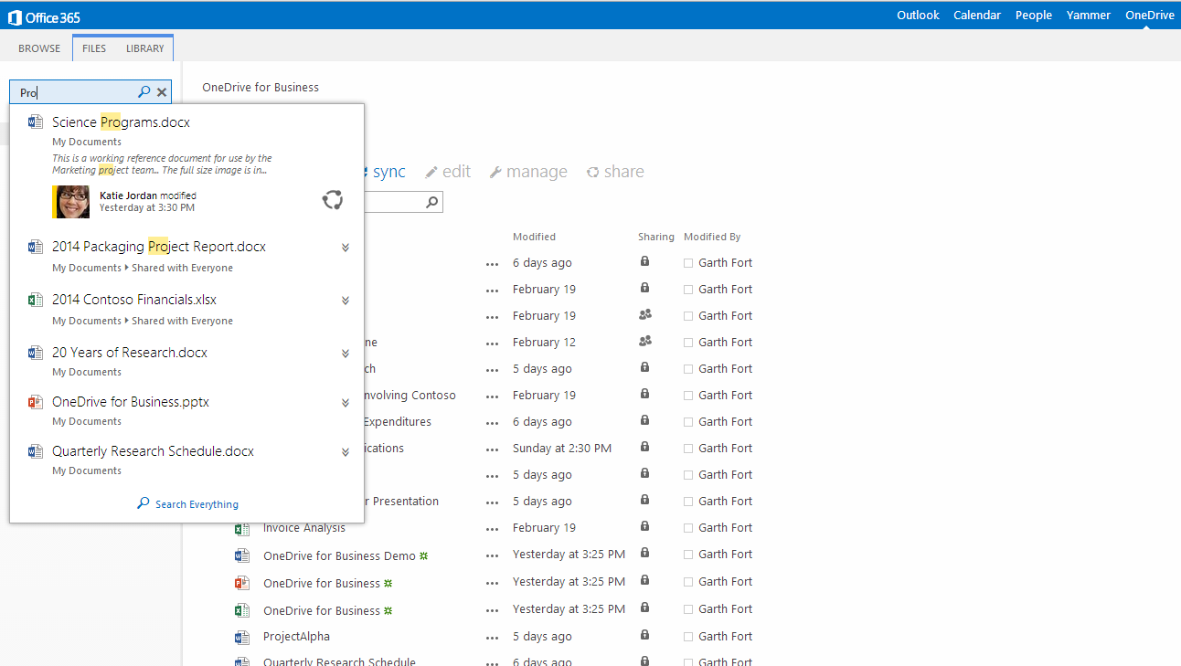 Microsoft Reveals Standalone OneDrive For Business Cloud