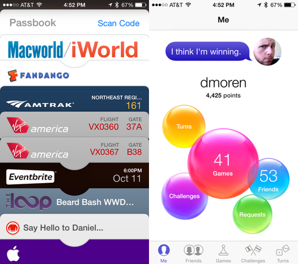 passbook gamecenter