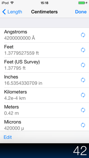 pcalc conversions iphone