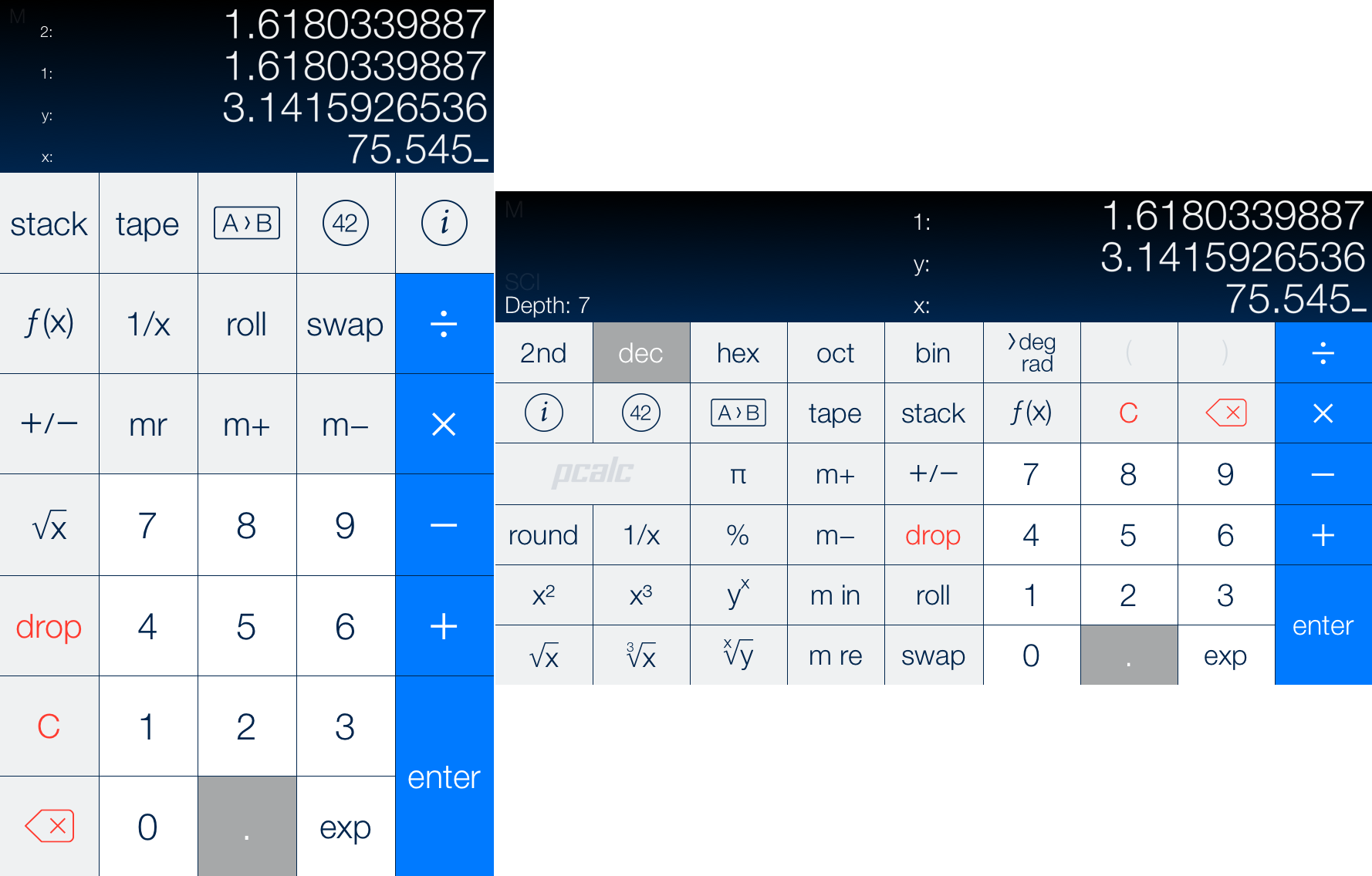 Pcalc 3 Review Standout Ios Calculator Gains Programmability And