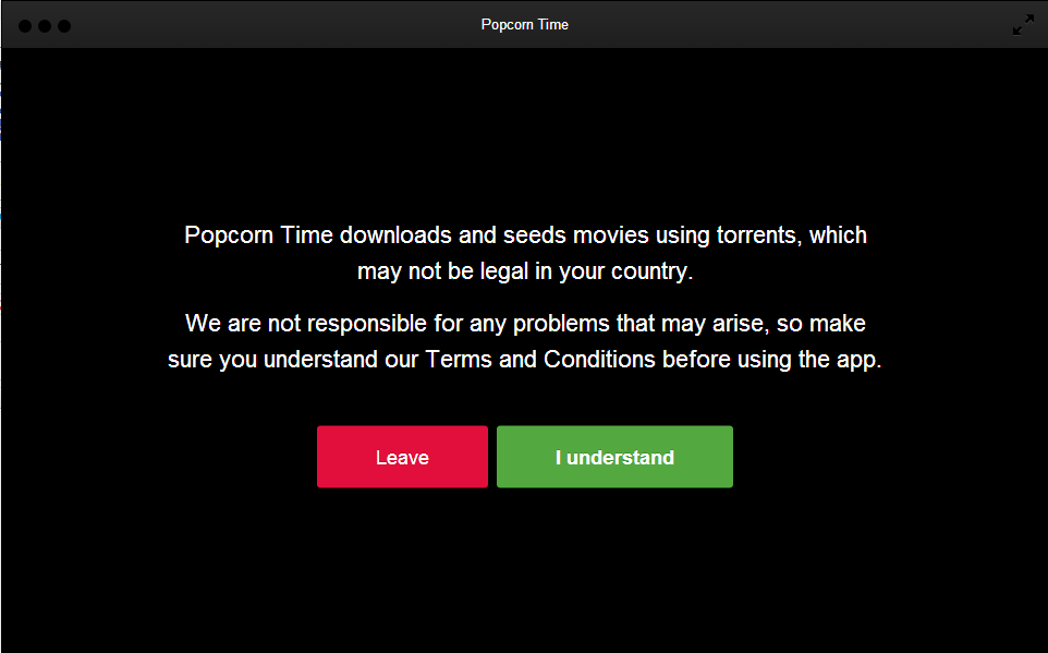 how to download popcorn time movies on laptop