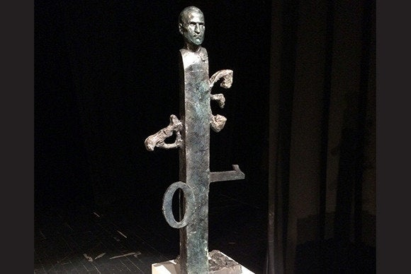 Radenovic Steve Jobs statue