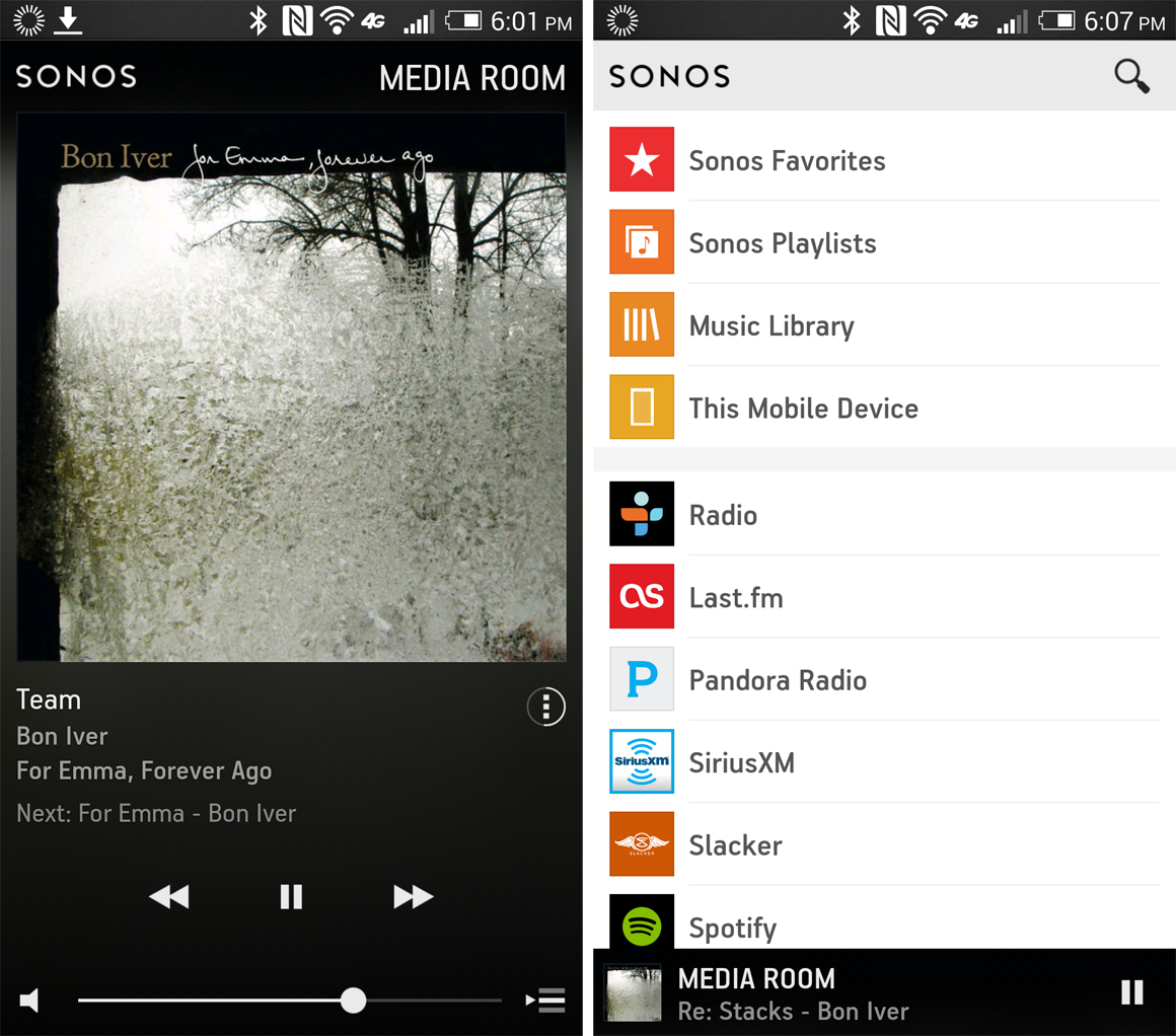 Hands On With The New Mobile Sonos Apps Techhive