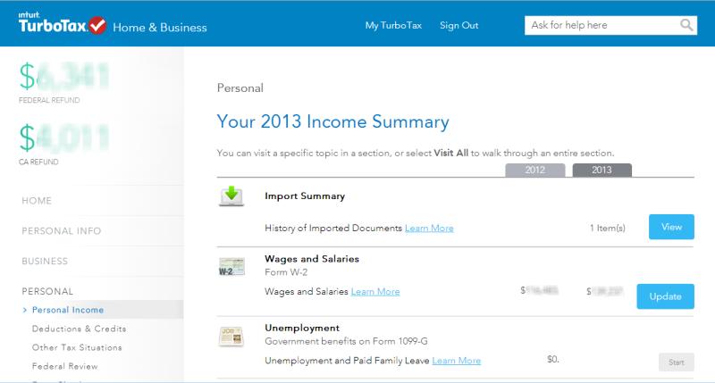 end of year tax return form