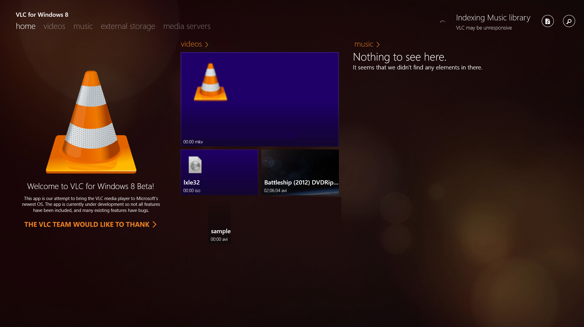Hands-on with VLC's beta Metro app: Already better than