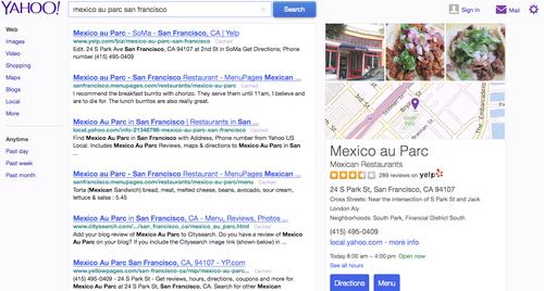 Yahoo gets help from Yelp to fight Google | PCWorld on yahoo! video, get driving directions, yahoo! news, yahoo! mail, yahoo meme, google maps, nokia maps, quick driving directions, hopstop directions, yahoo! directory, yahoo! pipes, yahoo! groups, a to b driving directions, yahoo! widget engine, maps get directions, web mapping, yahoo! search, yahoo! sports, bing maps, yahoo! briefcase,