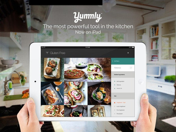Smart recipe app yummly expands its palate launches on ipad macworld yummly screenshot more like this iphone thanksgiving apps forumfinder Image collections