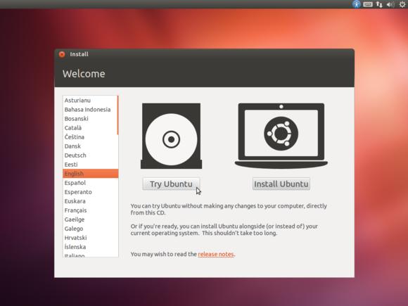 2 boot ubuntu live media