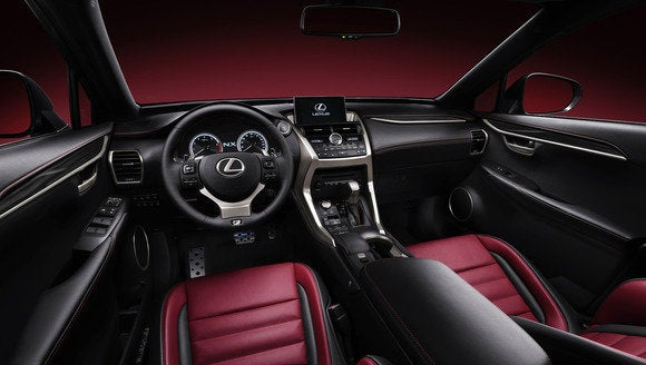2015 lexus nx 200t f sport cabin april 2014