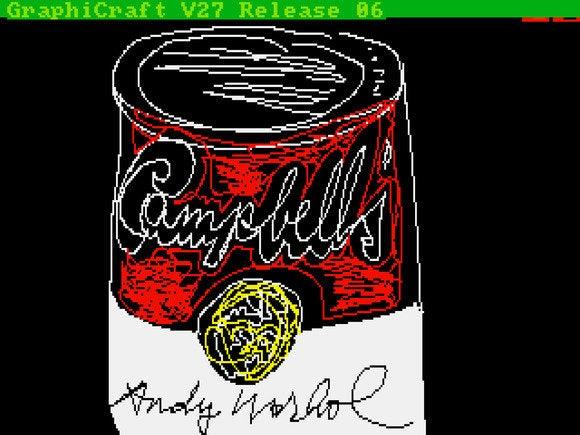 2 andy warhol campbells 1985 awf