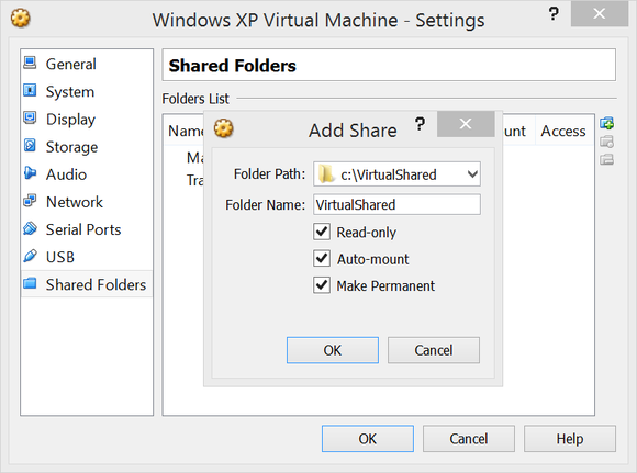 add virtual drive