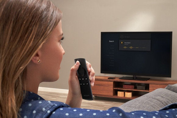 Voice Search on the Fire TV