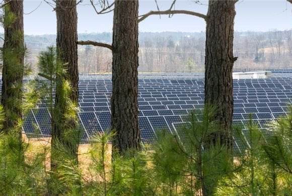 apple solar array nc