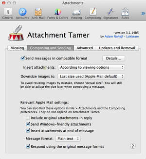 attachment tamer