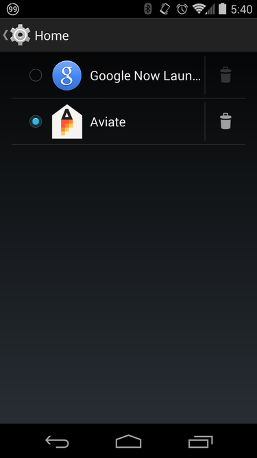 aviate launchers