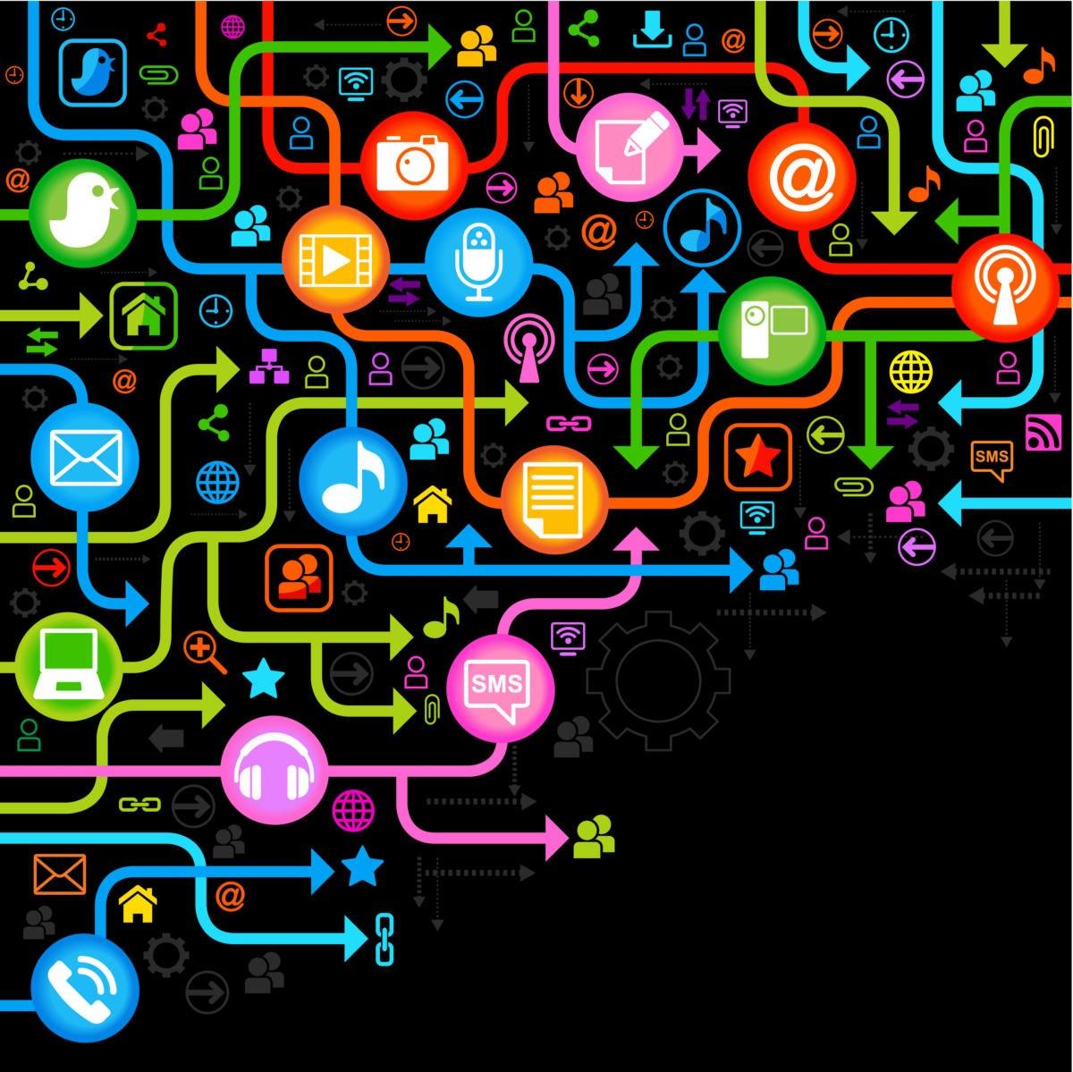 background social network 135810412
