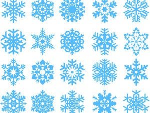 big collection of snowflakes. 95474787