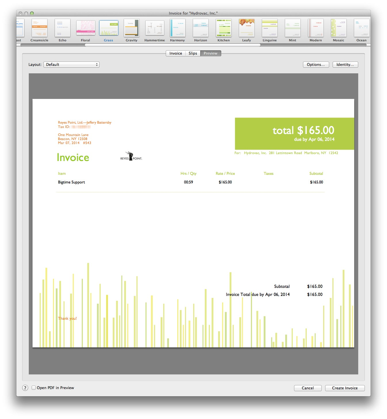 The Best Mac Accounting Apps Macworld - My invoices and estimates for mac