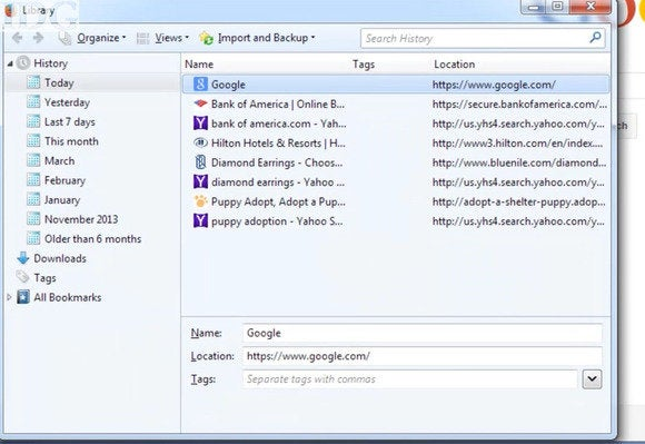 How to selectively delete browser history | PCWorld