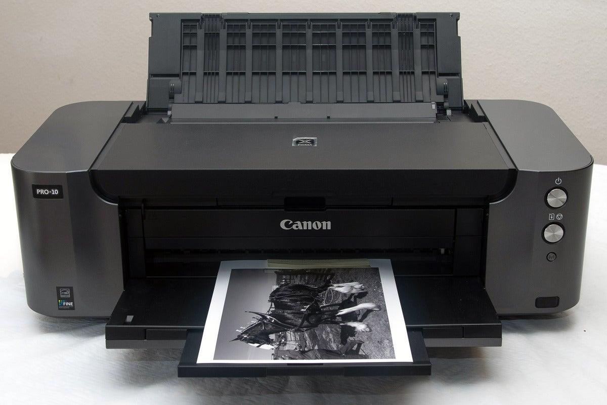Color printing vs black and white cost - Canon Pixma Pro 10