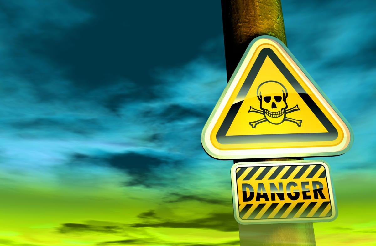 danger sign 100588162