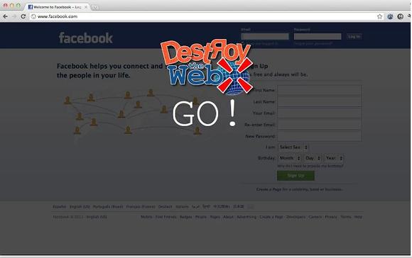 destroy the web