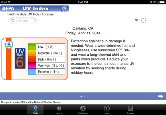 epa uv index alt
