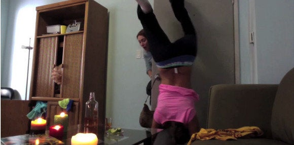 fake twerk fail