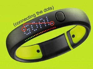 fuelband dots