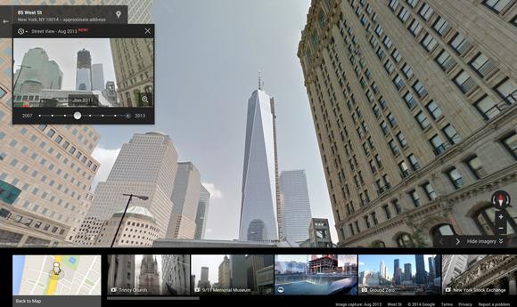 google street view freedom tower