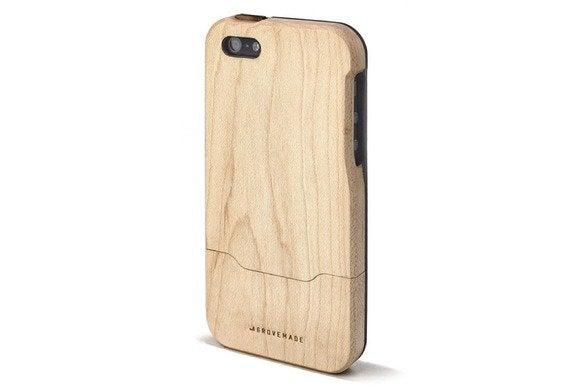 grovemade maple iphone