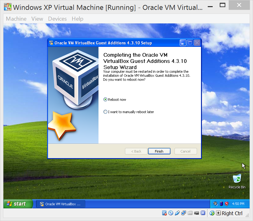 virtualbox for windows xp