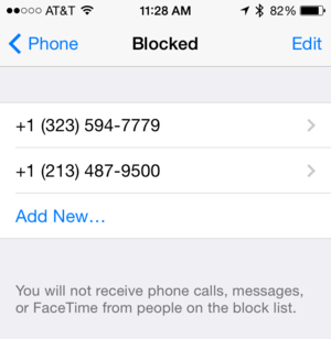 ios7tips phone blocked