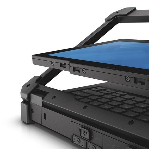 The Dell Latitude 12 Converts Into A Rugged Tablet.