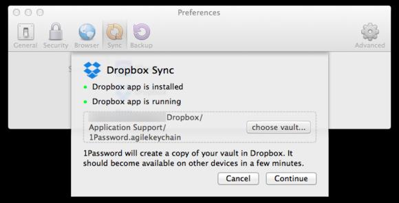 macbook cloud dropbox sync