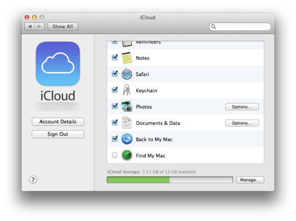 How to sign into icloud macbook