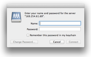 name password