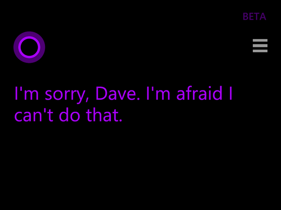 Why doesn t cortana talk to me elhouz